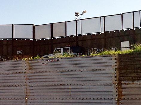 Grenzzaun zwischen Tijuana und San Diego