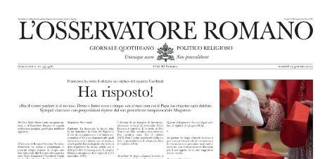 Fake Osservatore Romano