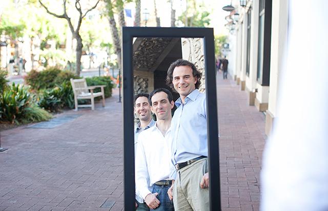 Die drei Gründer von Crystalline Mirror Solutions