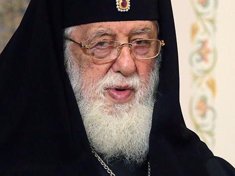 Der georgisch-orthodoxe Patriarch Ilia II.