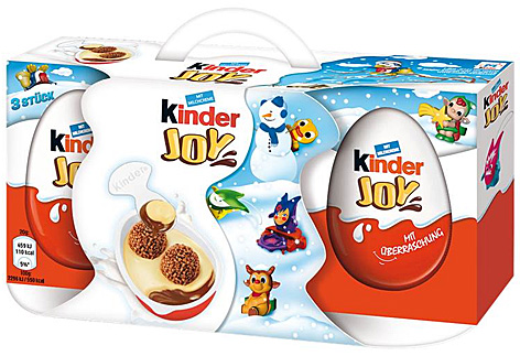 Kinder Joy 3er Packung