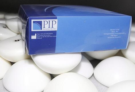Brustimplantate aus Silikon der Firma PIP