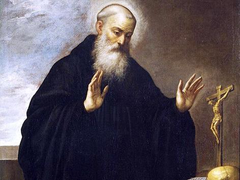 Gemälde von Cölestin V., Batholome Roman, Museo del Prado (ca. 1587-1647)