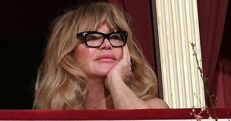 Goldie Hawn am Opernball 2017