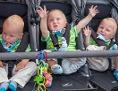 Kinderwagen mit Babies
