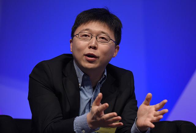 Feng Zhang vom Broad-Institut des MIT und Harvard