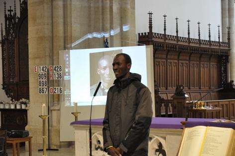 Serge COMPAORE Pfarre zur frohen Botschaft