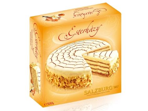 Verpackung Esterhazy Torte Salzburg Patisserie