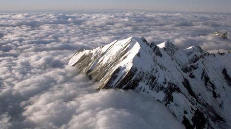 Neuseeland von Oben  Die Südalpen (2)