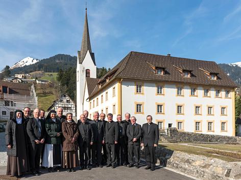 Frühjahrsvollversammlung 2017 der Österreichischen Bischofskonferenz in der Benediktinerpropstei St. Gerold