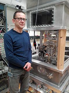 Henri Baumann im Labor