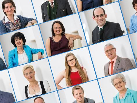Plakat zur Pfarrgemeinderatswahl 2017