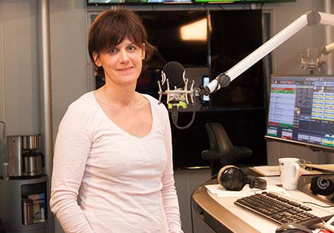 Christina Lachkovics-Budschedl im Ö3-Studio