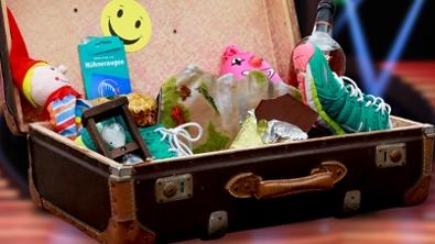 Koffer mit Utensilien