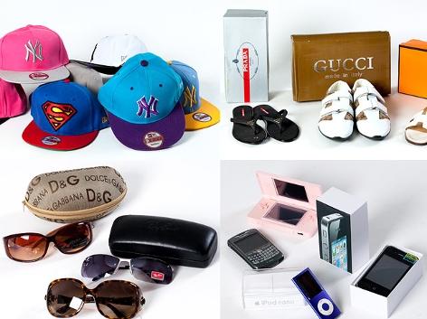 Markenprodukte, die gerne gefälscht werden