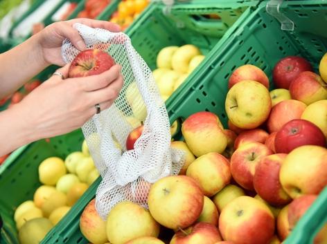 Obst, Gemüse, Einkaufen, Zero Waste, plastikfrei