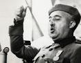 Francisco Franco bei einer Ansprache