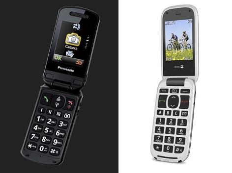 Panasonic KX-TU329 und Doro PhoneEasy 613