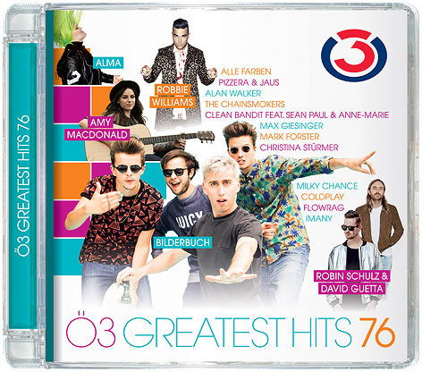 Cover der Ö3-Greatest Hits Vol.76