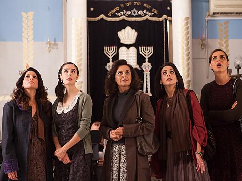 """Filmstill """"The Women's Balcony"""""""