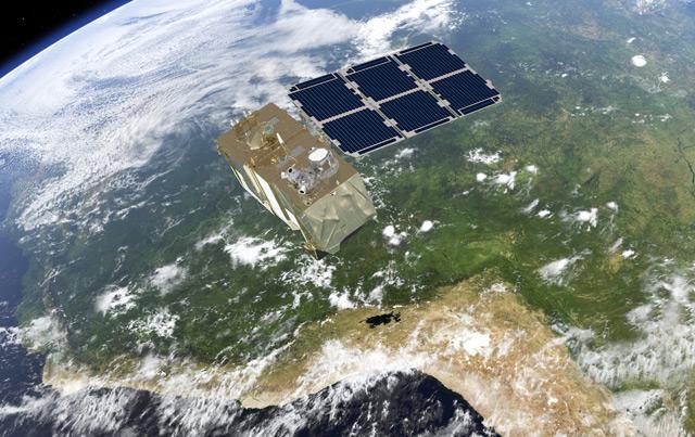 Sentinel-2 bei der Erdbeobachtung