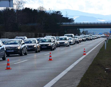 Oster-Verkehr