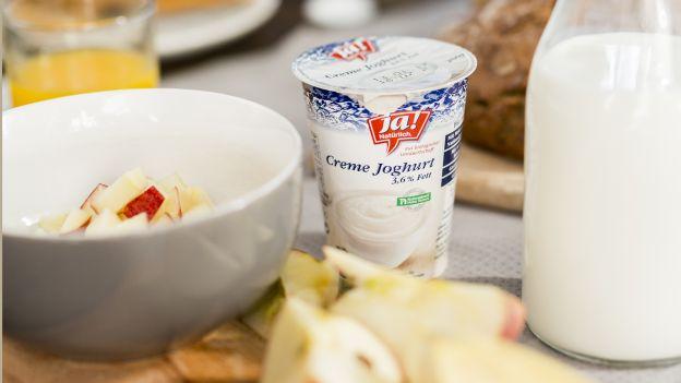 Frühstück mit Joghurt