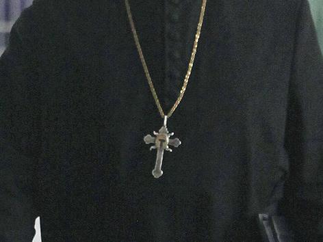 Das Kreuz eines Priesters