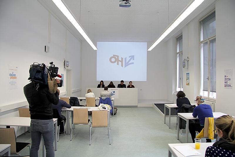 Pressekonferenz zur ÖH Bilanz