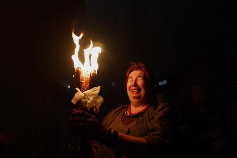 Feuerwunder Jerusalem