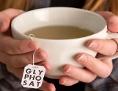 Tee in Tasse mit Glyphosat