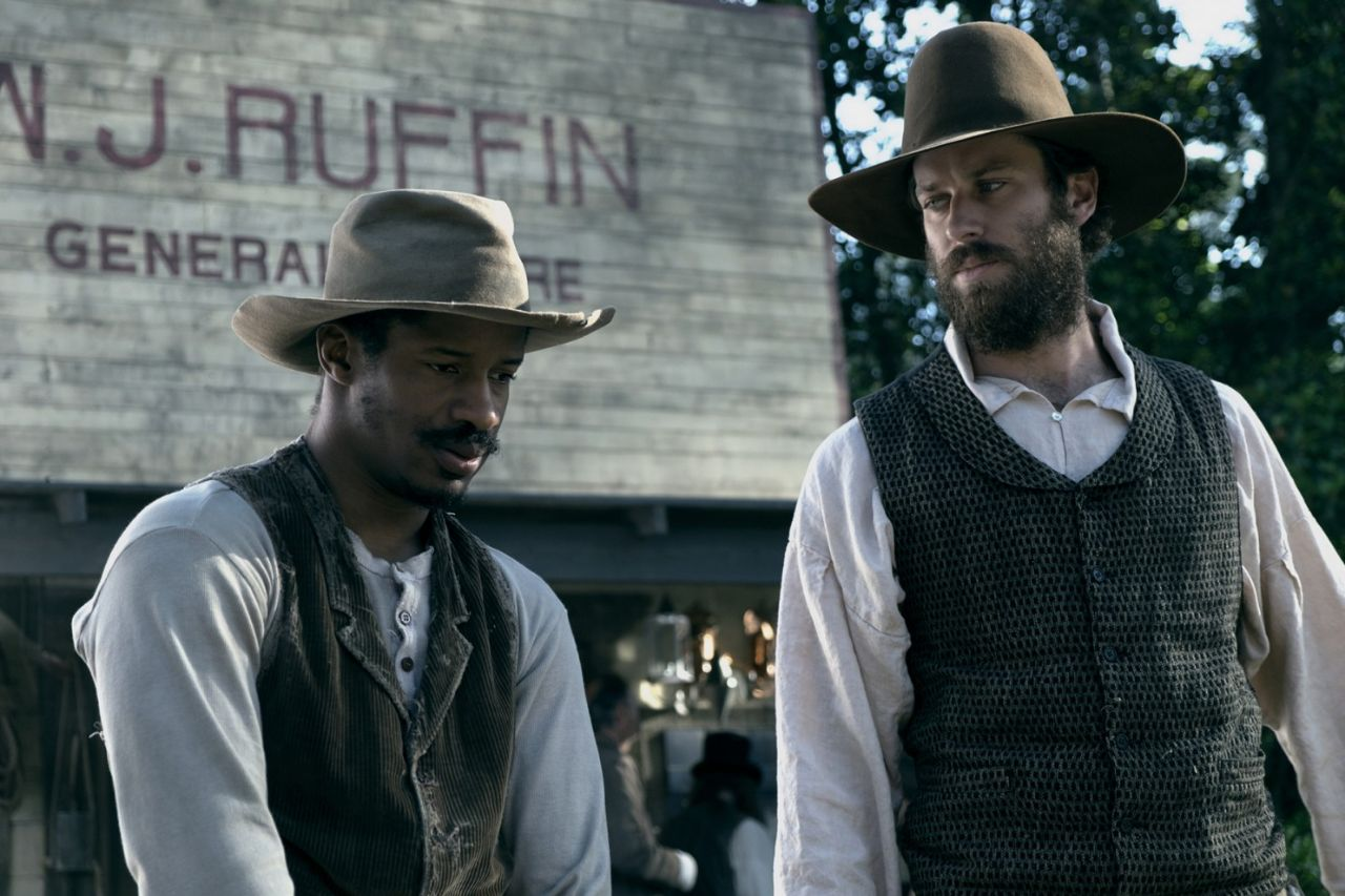 "Nate Parker und Armie Hammer in ""The Birth of a Nation"""