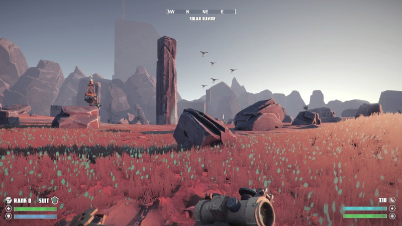 Screenshots aus dem Game Signal from Tölva