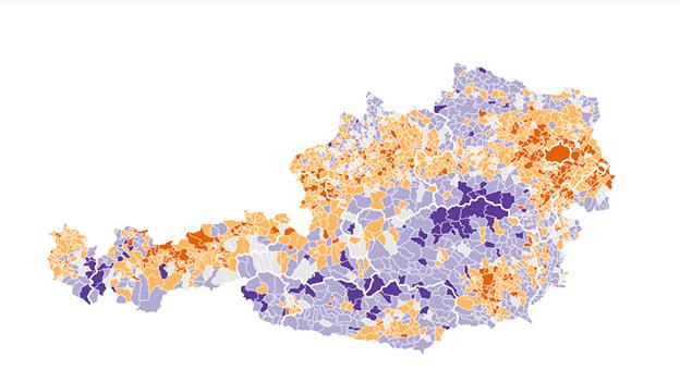 Bevölkerungsstands 2006-2016