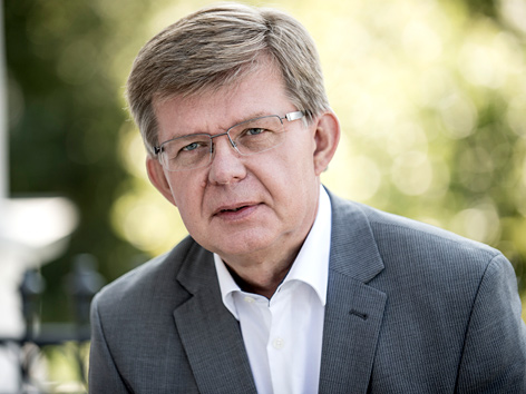 Der Grazer Caritas-Direktor Herbert Beiglböck