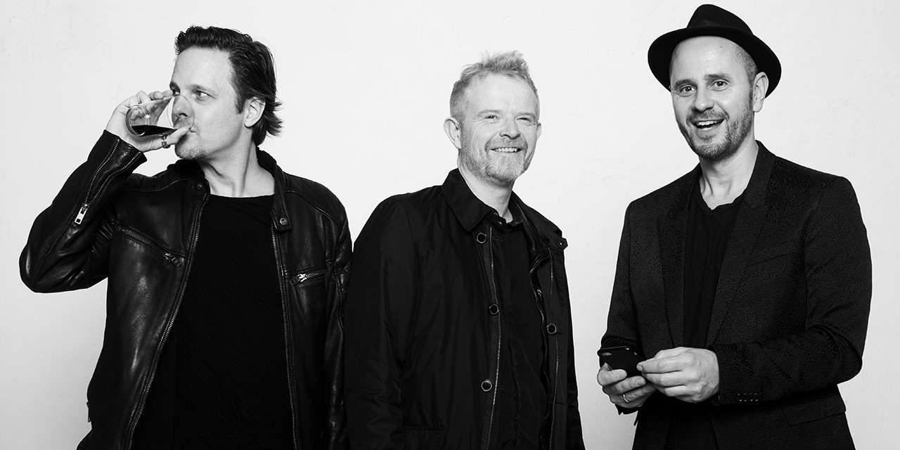 Booka Shade als Trio mit Craig Walker