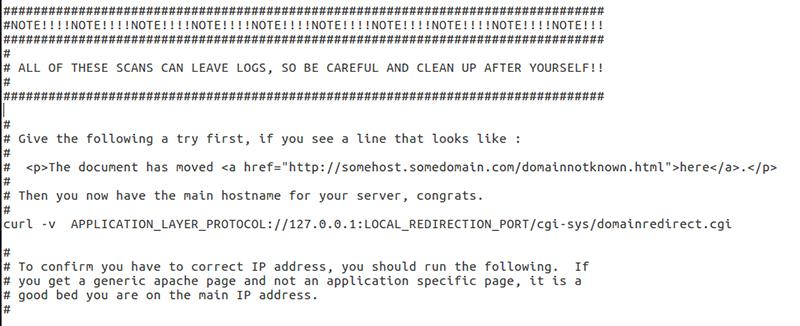 """Beware of Scans"" NSA"