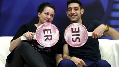 Riem und Mitko im Partnercheck