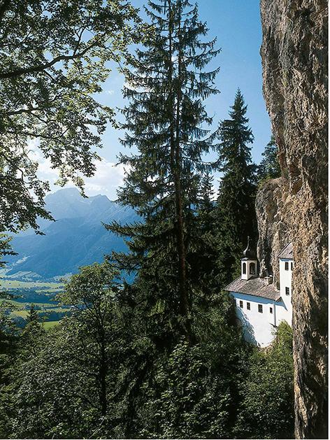 Die 350 Jahre alte Klause Saalfelden