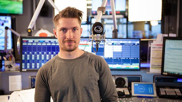 Marcel Hirscher im Ö3-Studio