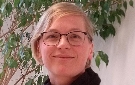 Julia Moser, Vorsitzende des Usher-Forums