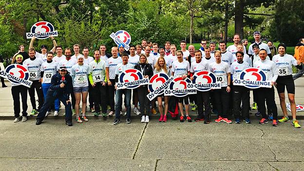 Das Team der Ö3-Marathon-Challenge 2017