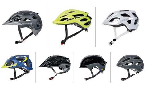 """Die """"guten"""" Helme im ÖAMTC-Test"""