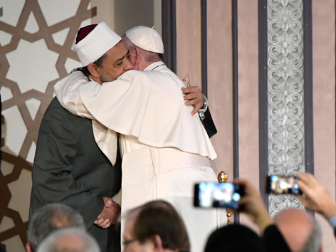 Papst Franziskus Großimam Al-Tayyeb