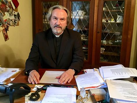 Der Wiener Bischofsvikar Dariusz Schutzki