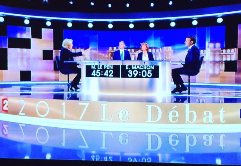 Debatte im Fersehen