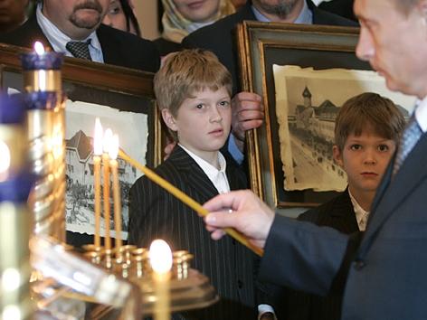 Putin Bari Reliquien