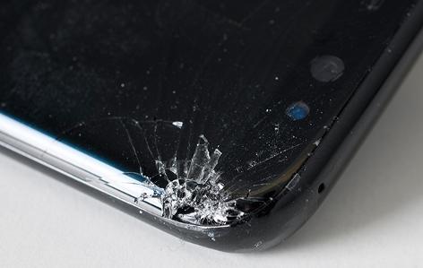Galaxy S8 nach Falltest 2