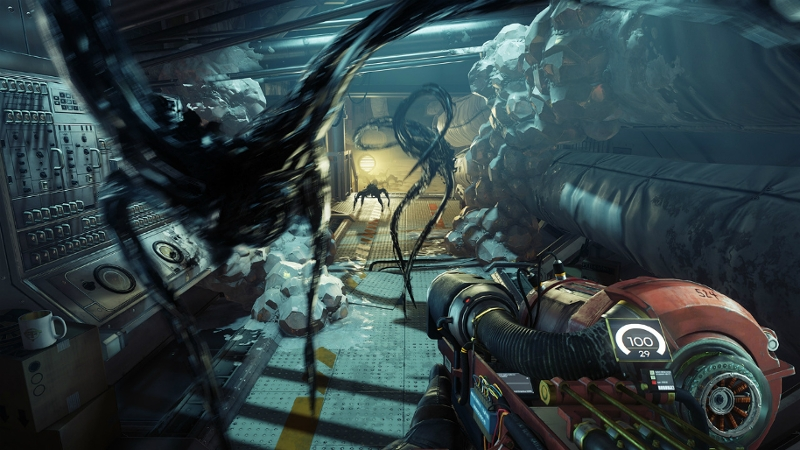 Screenshot von dem Gameplay des Spiels Prey.