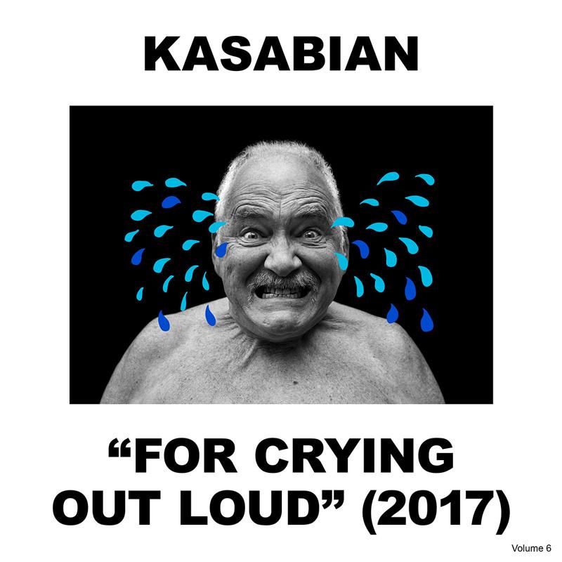 Kasabian-Albumcover - ein weinender Mann